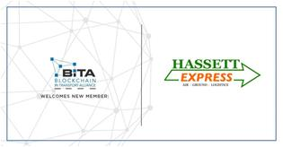 Hassett Express joins the Blockchain in Transport Alliance